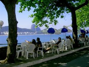 Praia de Copacabana vista do Forte de Copacabana