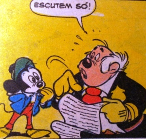 Escutem só, Mickey, Walt Disney