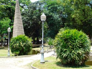Pirâmide do Mestre Valentim, Passeio Público, RJ