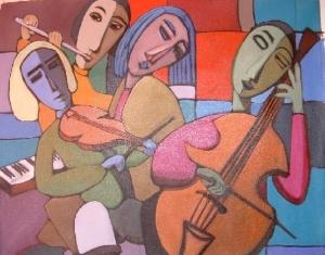 Kiko Medeiros (RS, Brasil 1955) Músicos, A/T