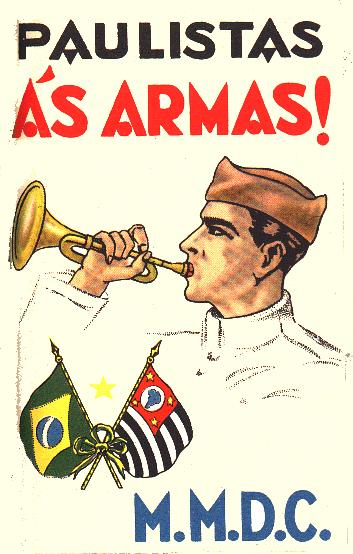 Cartaz da Revolução Constitucionalista de 1932