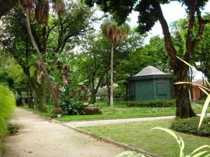 Vista com Quiosque, casa de Rui Barbosa