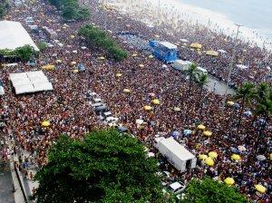 Monobloco em Copacabana, 2007.