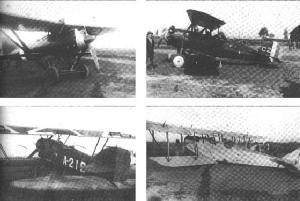 Os aviões usados