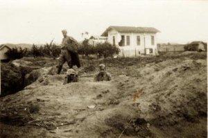 Estação de Engenheiro Neiva, durante a revolução de 1932