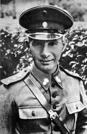 General Brasilio Tabords, das forças revolucionárias em Santos.
