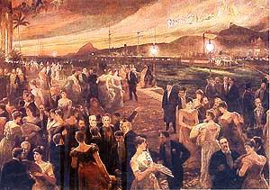 O Último Baile da Monarquia, tela de Aurélio de Figueiredo, 1905