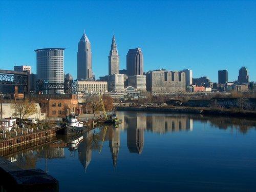 Cidade de Cleveland, na parte central dos EUA.