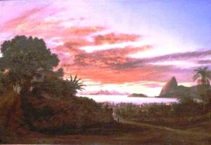 Nicolas Antoine Taunay (França 1755-1830) Vista do Rio de Janeiro