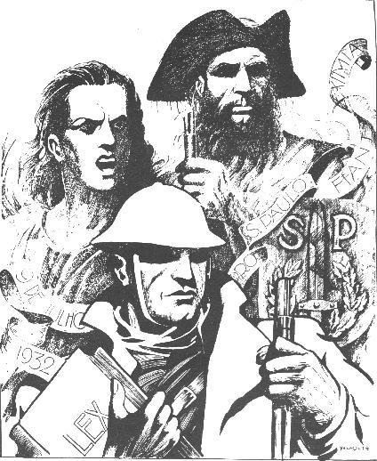 A herança dp heroismo, Fernã Dias Paes Leme, Tiradentes e o voluntário de 1932.