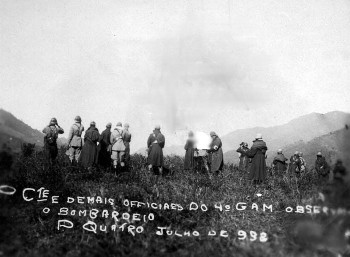 Bombardeio em Passa Quatro, Minas Gerais, Revolução 1932