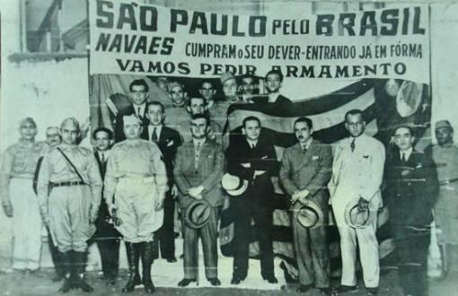 Campanha em Santos durante a Revolução de 1932