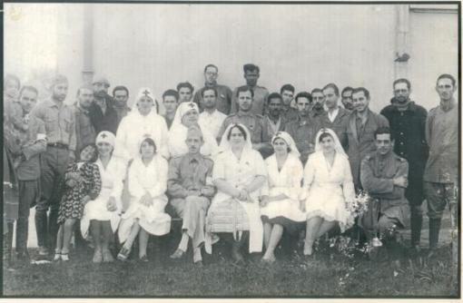 Equipe da Cruz Vermelha, Itapira.