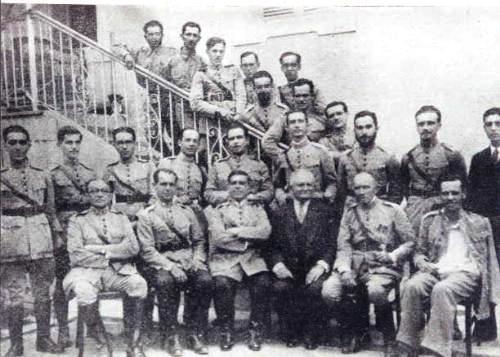 Militares de Caçapava, na Revolução de 1932