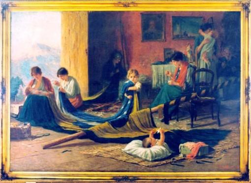 A Pátria, 1905, Pedro Bruno, (RJ  1888-1949), óleo sobre tela, Museu Histórico do Rio de Janeiro.