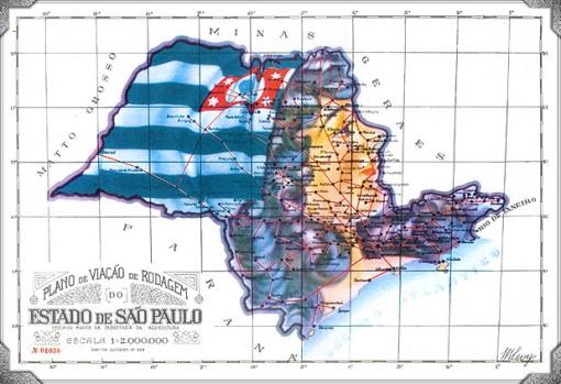 Plano de viação de rodagem, estado de São Paulo
