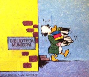 Biblioteca Municipal, Ilustração Walt Disney.