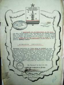 Certificado de Ex-combatente