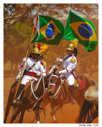 Dragões da Independência, Foto de Cláudio Reis