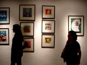 Ateliê FMourão, na noite de abertura da exposição.