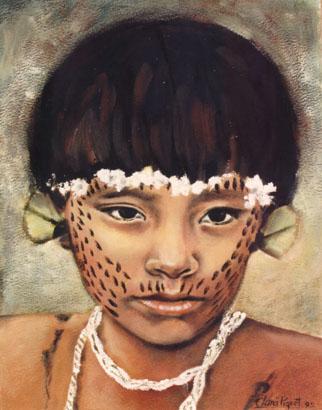 Índio brasileiro.