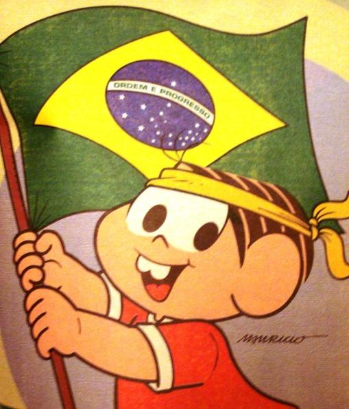 Ilustração, Maurício Sousa