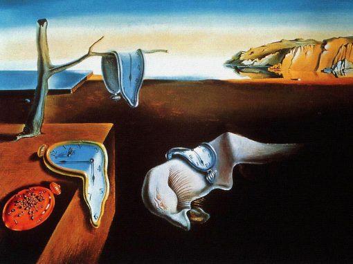 A persistência da memória, 1931, Salvador Dali (Espanha