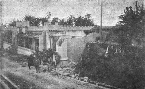 Ataque à fortaleza.  1932