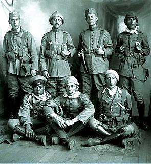 Soldados paulistas, Foto Claro Johnson