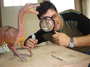 Paleontólogo Marcelo Adorna Fernandes