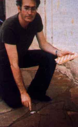 Padre paleontólogo Giuseppe Leonardi