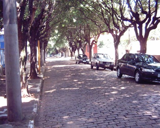 Rua Voluntários da Pátria em Araraquara