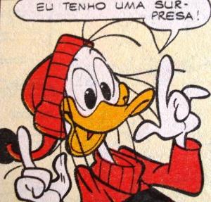 ilustração Walt Disney