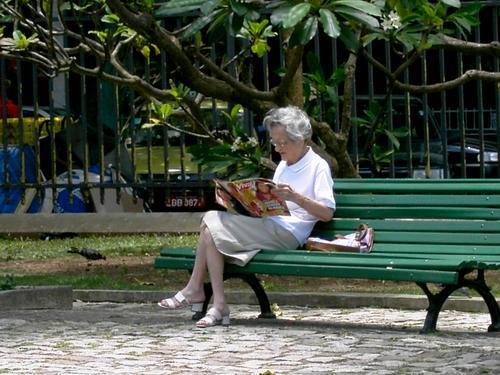 banco de jardim poema:Manhã de terça-feira, praça do Lido, Rio de Janeiro