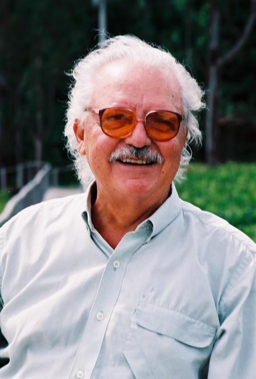 O escritor Salim Miguel