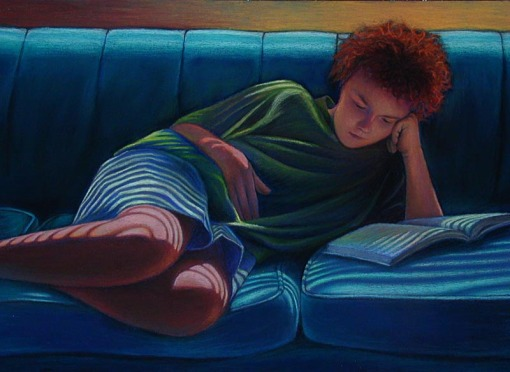 jan-mcdonald-pastel-painting-girl-reading