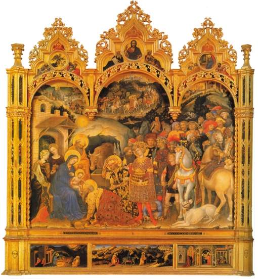 gentile-da-fabriano-altar-dos-medici-adoracao-dos-reis-magos-sobre-3-predellas-1423