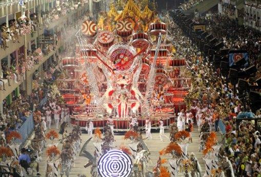 Escola de Samba Acadêmicos do Salgueiro, Carnaval 2009, Foto: AFP