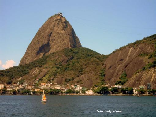 Enseada de Botafogo, ao fundo o Pão de Açúcar, Foto: Ladyce West