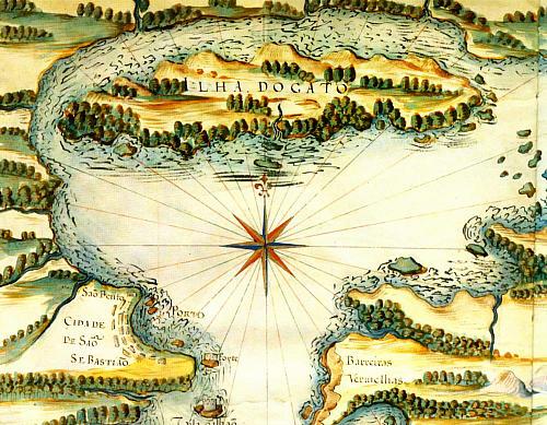 ilha-do-gato-terra-dos-temiminos-mapa-rj-de-joao-teixeira-albernaz-1624