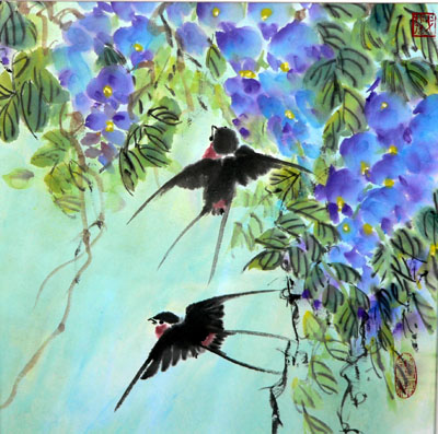 passarinhos-andorinhas-na-primavera