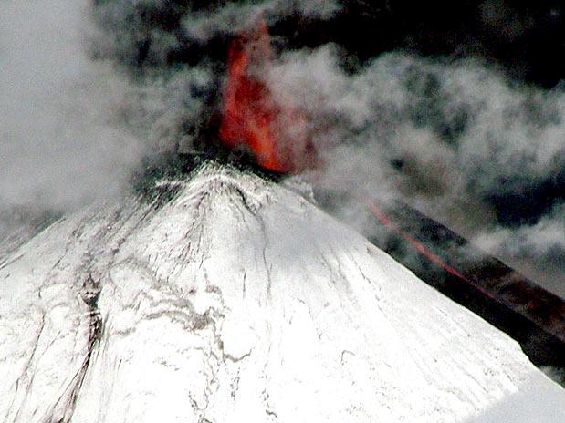 Vulcão chileno - Beleza ou tragédia?