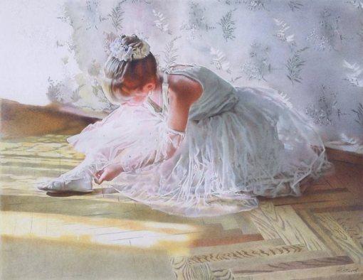 Bailarina, ilustração de Yuri Dyatlov.