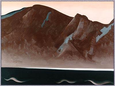 bear lake, new mexico, georgia O keeffe (1887-1986) 1930, acervo casa branca