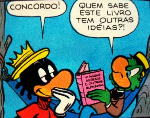 lendo viagens - zé carioca