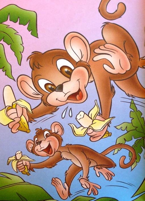 macaquinhos com bananas MW Editora & Ilustrações