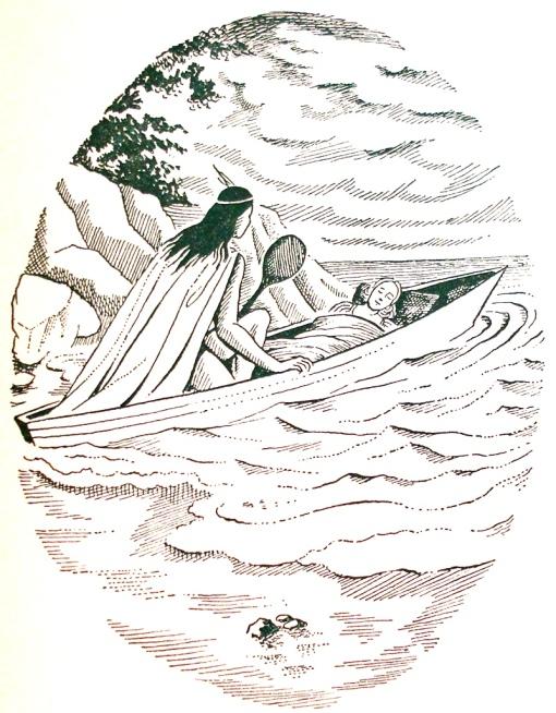 peri e ceci, ilustração de Santa Rosa, O Guarani, RJ, José Olympio,1955