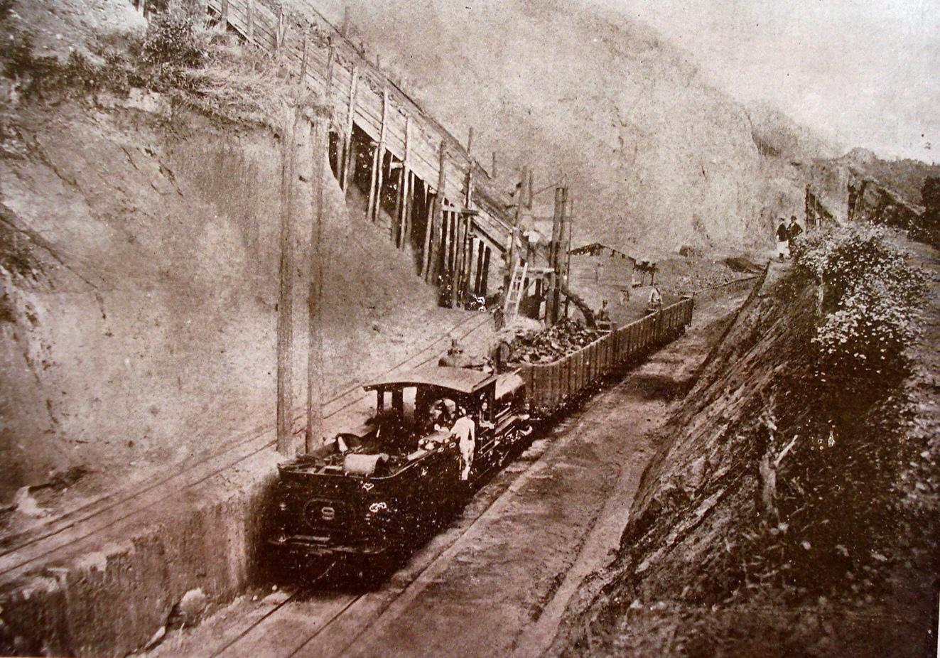 Minas, carregamento de minerio