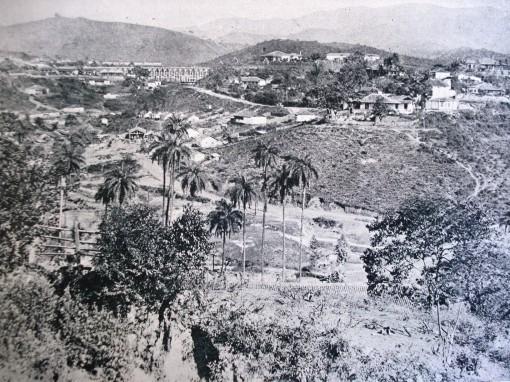 Minas primeira seção da vista geral de Morro velho