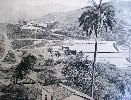 Minas segunda seção da vista geral do Morro Velho